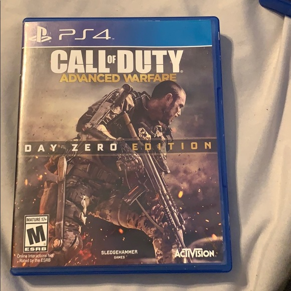 Other Ps4 Game Call Of Duty Advanced Warfare Poshmark